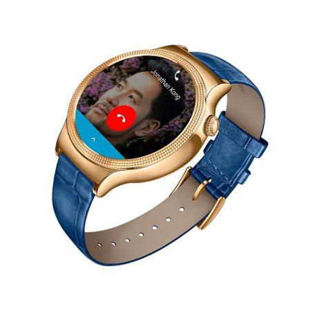 قیمت خرید ساعت هوشمند هواوی Huawei Watch Rose Gold Case Blue Leather Strap