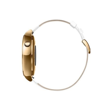 قیمت خرید ساعت هوشمند هواوی Huawei Watch Rose Gold Case White Leather Strap