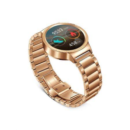 قیمت خرید ساعت هوشمند هواوی Huawei Watch Stainless Steel Gold Link Band