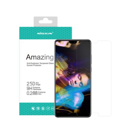 قیمت خرید گلس نیلکین گوشی هواوی Huawei P20 مدل Amazing H+ Pro