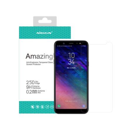 قیمت خرید گلس نیلکین گوشی سامسونگ Samsung A6 Plus 2018 مدل H+ Pro