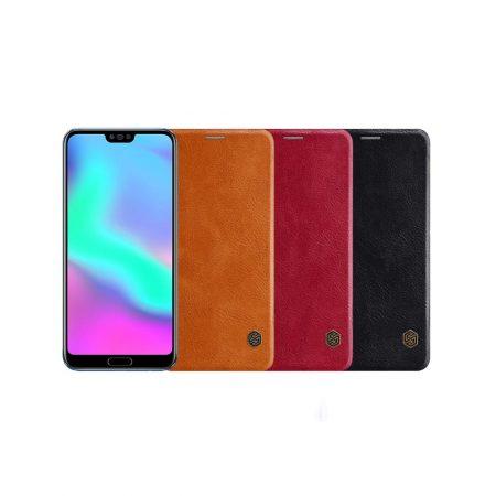 قیمت خرید کیف چرمی نیلکین گوشی هواوی Nillkin Qin Huawei Honor 10
