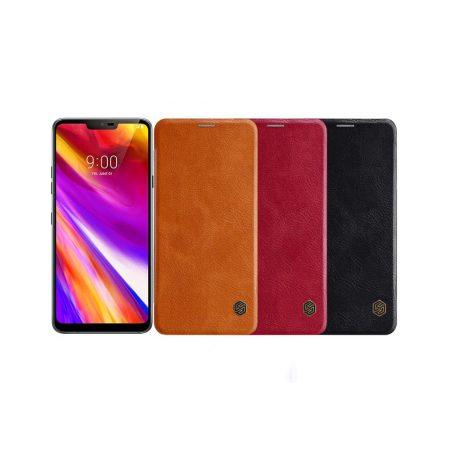 قیمت خرید کیف چرمی نیلکین گوشی LG G7 ThinQ مدل Nillkin Qin