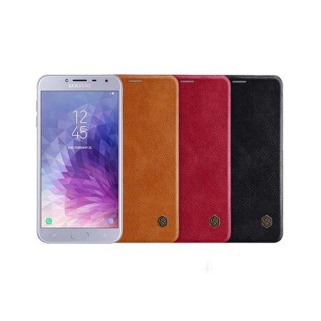 قیمت خرید کیف چرمی نیلکین گوشی Samsung Galaxy J4 مدل Nillkin Qin