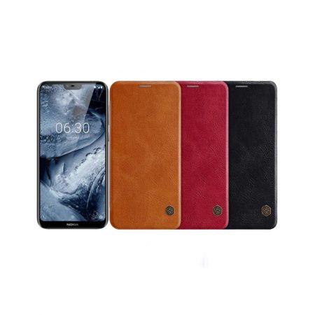 قیمت خرید کیف چرمی نیلکین گوشی سامسونگ Samsung Galaxy J6 مدل Qin