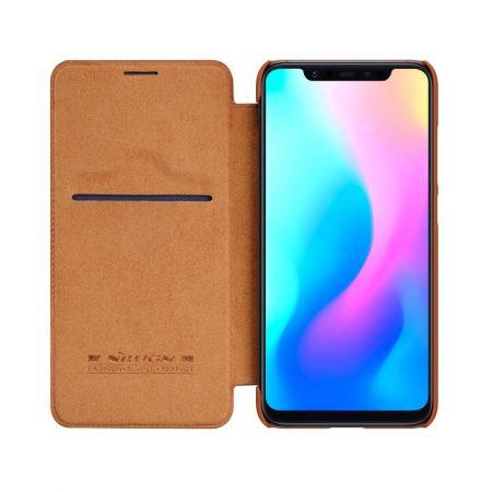 قیمت خرید کیف چرمی نیلکین گوشی شیائومی Xiaomi Mi 8 مدل Nillkin Qin