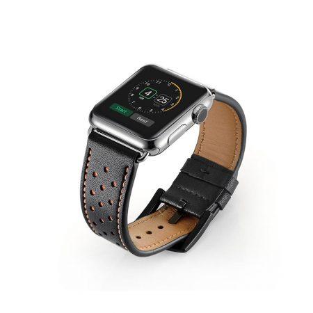 قیمت خرید بند چرمی ساعت اپل واچ 38 میلی متری مدل Belt Strap