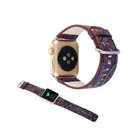 قیمت خرید بند اپل واچ 38mm مدل چرمی گرافیک طرح 3