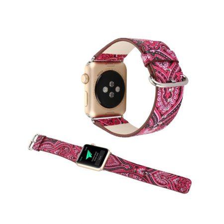 قیمت خرید بند ساعت Apple Watch 42mm مدل چرمی گرافیک طرح 2