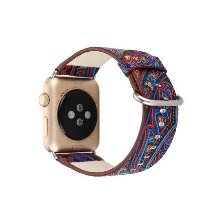 قیمت خرید بند اپل واچ 42mm مدل چرمی گرافیک طرح 3