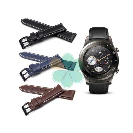 قیمت خرید بند چرمی ساعت Huawei Watch 2 Classic مدل سگک کوچک