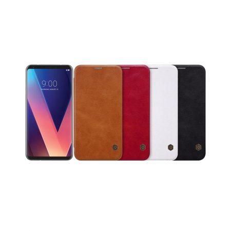 قیمت خرید کیف چرمی نیلکین گوشی LG V30 مدل Nillkin Qin
