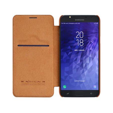 قیمت خرید کیف چرمی نیلکین سامسونگ Samsung Galaxy J7 Duo مدل Qin