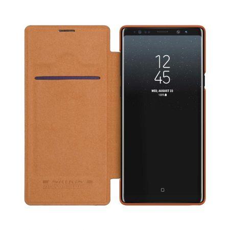قیمت خرید کیف چرمی نیلکین گوشی Samsung Galaxy Note 9 مدل Nillkin Qin