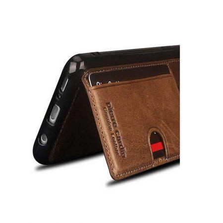 قیمت خرید کیف چرمی گوشی سامسونگ اس 9 مدل پیرکاردین P11
