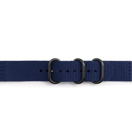 قیمت خرید بند اورجینال سامسونگ Gear Sport مدل پارچه ای Premium Nato Blue