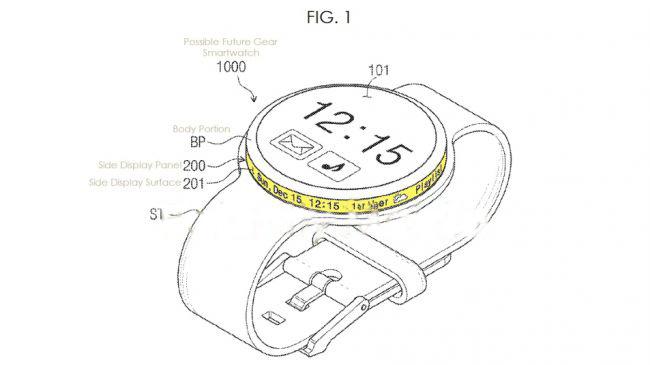 طراحی ساعت هوشمند سامسونگ Gear S4