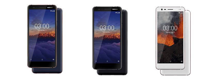قیمت خرید گوشی Nokia 3.1
