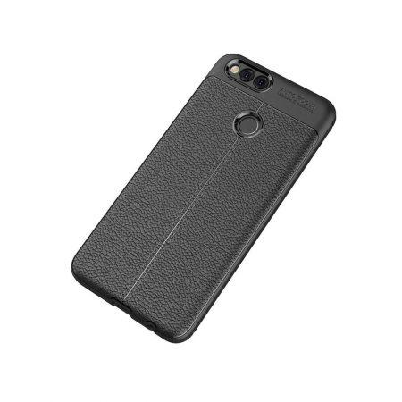 قیمت خرید کاور چرمی اتو فوکوس مناسب گوشی هواوی Huawei Honor 7X