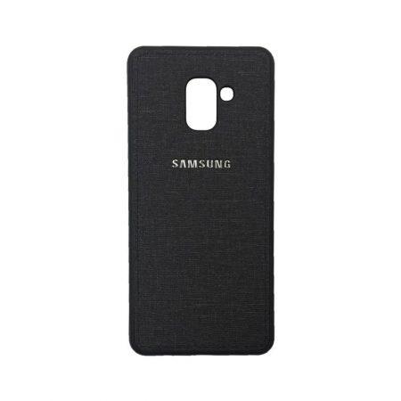 قیمت خرید گارد ژله ای گوشی Samsung A8 Plus 2018 طرح پارچه ای