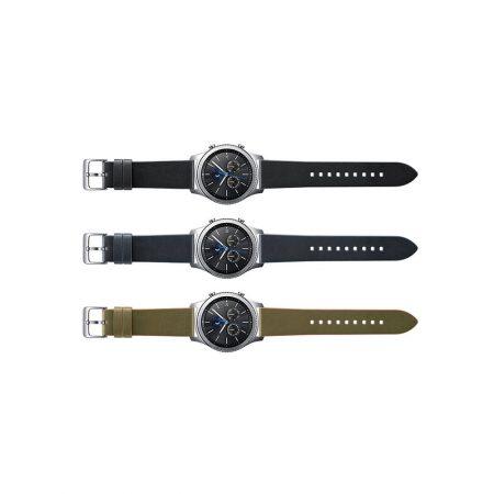 قیمت خرید بند ساعت هوشمند سامسونگ Gear S3 Classic مدل چرمی اورجینال