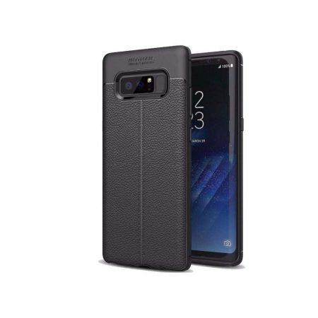 قیمت خرید کاور چرمی اتو فوکوس مناسب گوشی سامسونگ Galaxy Note 8