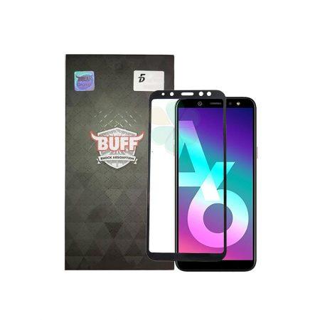 قیمت خرید محافظ صفحه شیشهای بوف 5D برای گوشی Samsung Galaxy A6 2018