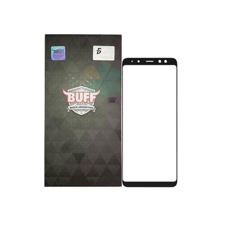قیمت خرید محافظ صفحه شیشهای بوف 5D برای گوشی سامسونگ A8 Plus 2018