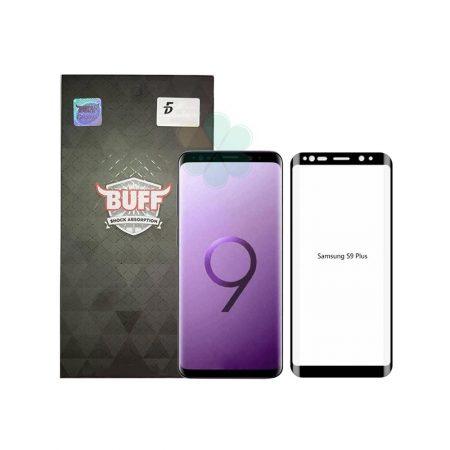 قیمت خرید محافظ صفحه شیشهای بوف 5D برای گوشی Samsung S9 Plus
