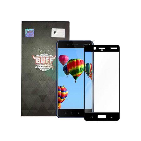 قیمت خرید محافظ صفحه شیشه ای بوف 5D برای گوشی نوکیا 8 - Nokia 8