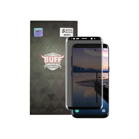 قیمت خرید محافظ صفحه شیشه ای بوف 5D Privacy برای گوشی سامسونگ نوت 8