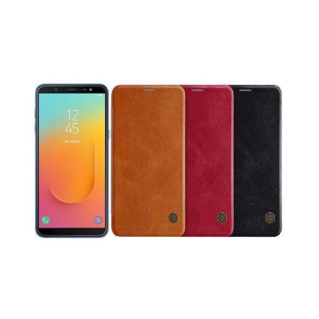 قیمت خرید کیف چرمی نیلکین گوشی Samsung Galaxy J8 مدل Nillkin Qin