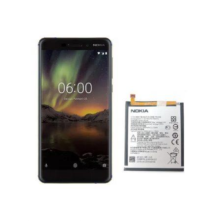 قیمت خرید باتری گوشی نوکیا 6.1 - Nokia 6 2018 مدل HE345