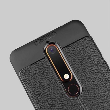 قیمت خرید کاور چرمی اتو فوکوس برای گوشی نوکیا 6.1 - Nokia 6 2018