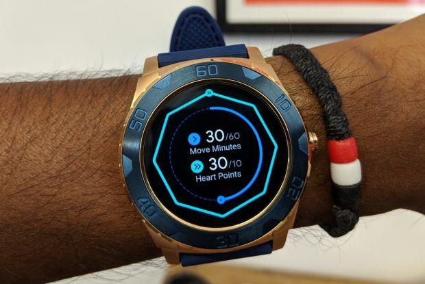 برنامه ورزشی ساعت هوشمند گوگل فیت
