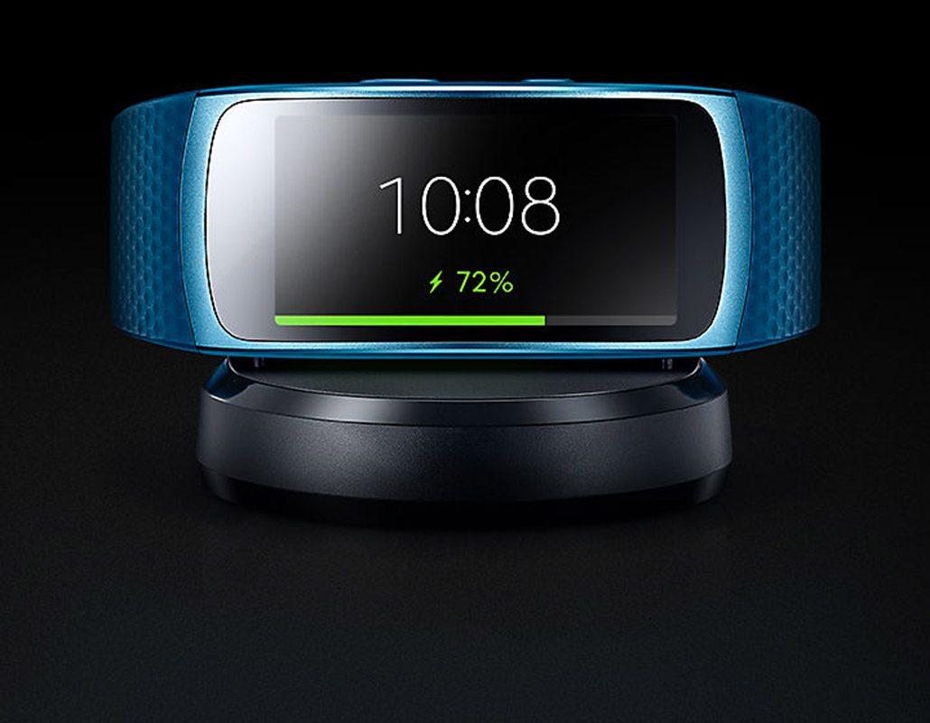 شارژ مچ بند هوشمند سامسونگ Samsung Gear Fit 2 Pro
