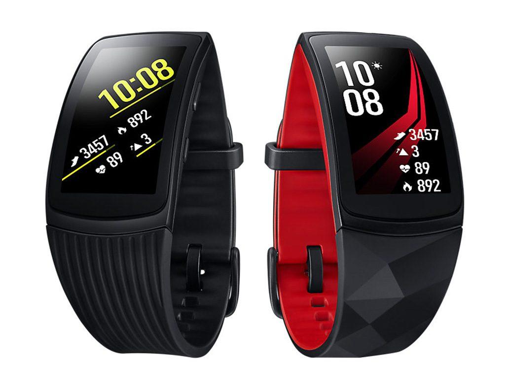 طراحی مچ بند هوشمند سامسونگ Samsung Gear Fit 2 Pro