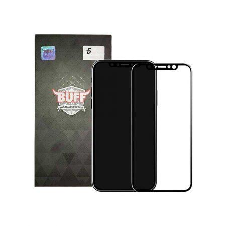 قیمت خرید محافظ صفحه شیشه ای بوف 5D برای گوشی آیفون iPhone XS