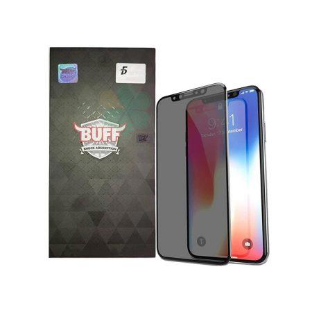 قیمت خرید محافظ صفحه شیشه ای بوف 5D Privacy برای گوشی آیفون iPhone XS