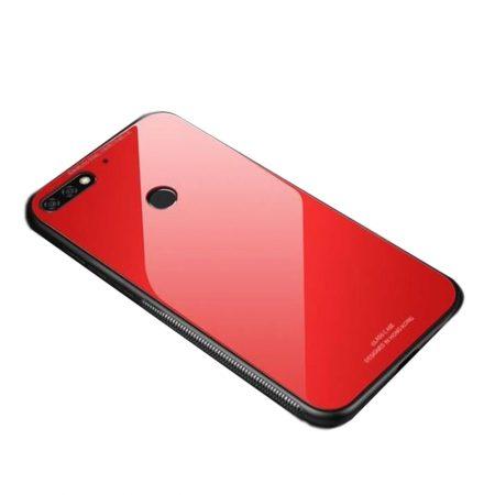 قیمت خرید قاب پشت گلس گوشی هواوی Huawei Honor 7C مدل JZZS