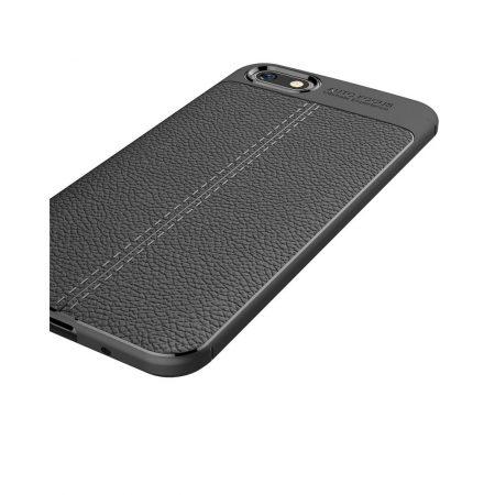قیمت خرید کاور چرمی اتو فوکوس مناسب گوشی هواوی Huawei Y5 Prime 2018