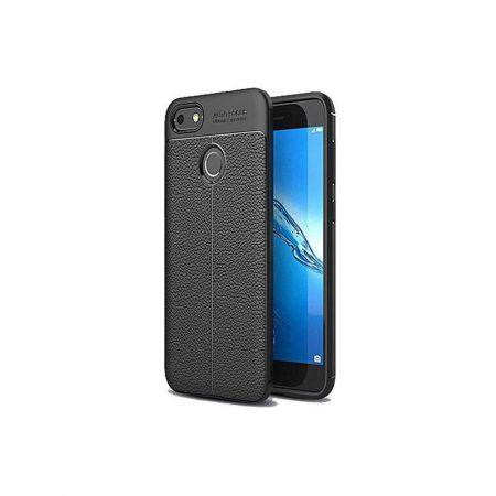 قیمت خرید کاور چرمی اتو فوکوس مناسب گوشی هواوی Huawei Y7 Prime 2018