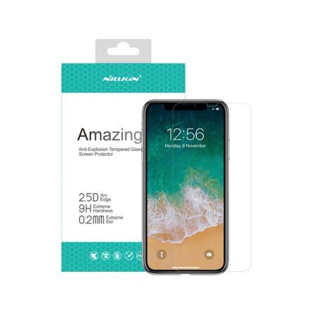 قیمت خرید گلس نیلکین گوشی آیفون iPhone XS Max مدل Amazing H+ Pro