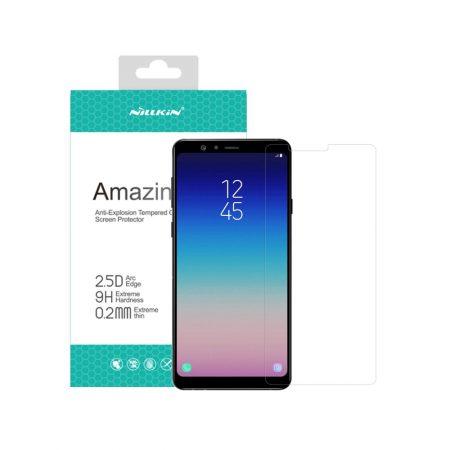 قیمت خرید گلس نیلکین گوشی سامسونگ Samsung A8 Star / A9 Star مدل Amazing H+ Pro