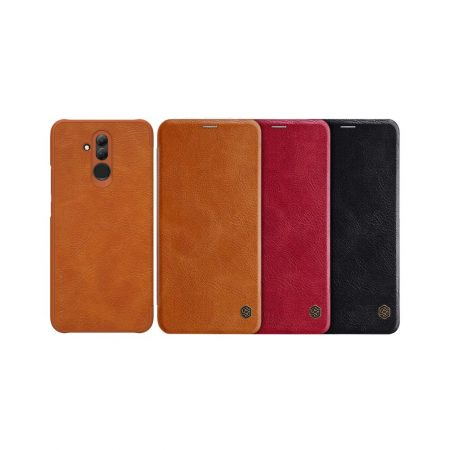 قیمت خرید کیف چرمی نیلکین گوشی هواوی Huawei Mate 20 lite مدل Nillkin Qin