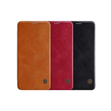 قیمت خرید کیف چرمی نیلکین گوشی سامسونگ Samsung Galaxy A8 Star / A9 Star مدل Nillkin Qin