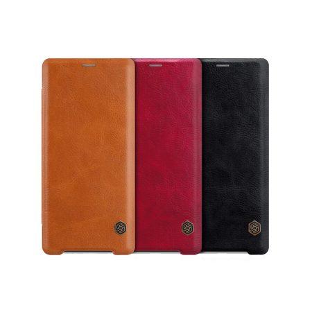 قیمت خرید کیف چرمی نیلکین گوشی سونی Sony Xperia XZ3 مدل Nillkin Qin