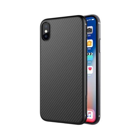 قیمت خرید کاور نیلکین گوشی آیفون iPhone XS مدل Synthetic Fiber