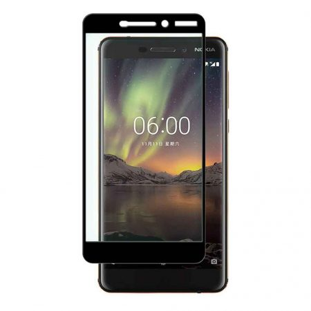 قیمت و خرید گلس محافظ تمام صفحه گوشی نوکیا 6.1 - Nokia 6 2018