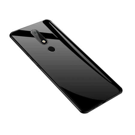 قیمت خرید قاب پشت گلس گوشی نوکیا 6.1 - Nokia 6 2018 مدل JZZS